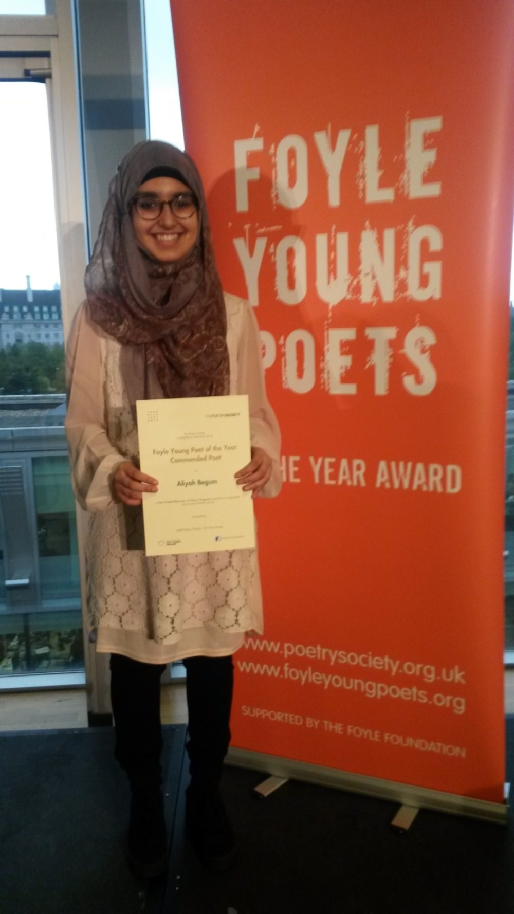 Foyle Young Poet