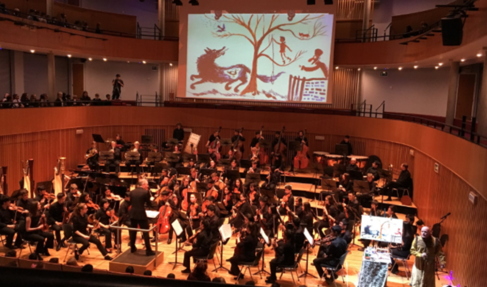 Symphony Orchestra Collaboration