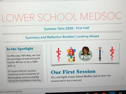 Lower School Med Soc